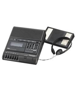 Panasonic RR830 Standard Cassette Transcriber / Recorder - Black