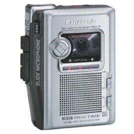 Panasonic  RQ-L31 Mini Cassette Recorder
