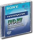 SONY DMW30 8CM DVD-RW Disc For Video Cameras - Single Disc