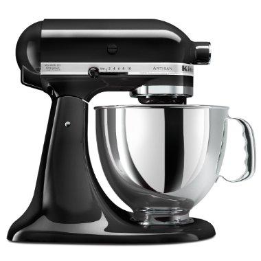 KitchenAid Artisan Stand Mixer KSM150PSOB (Onyx Black)
