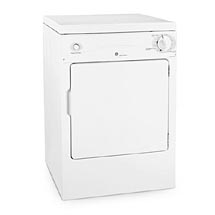 GE Spacemaker 3.6 cu. ft. Capacity Portable Electric Clothers Dryer, White, Model No. DSKP333ECWW