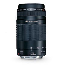 Canon EF 75-300mm f/4.5-5.6 USM Telephoto Zoom Lens for Canon (6472A002)