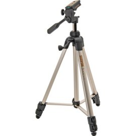 Sunpak 8001UT Tripod with Quick Release, Bubble Level and 3-Way Panhead