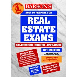 How to Prepare for the Real Estate Exams: Salesperson, Broker, Appraiser