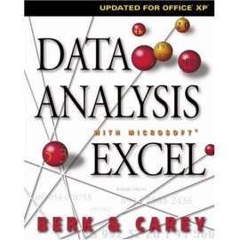 Data Analysis with Microsoft Excel : Updated for Office XP (with CD-ROM)