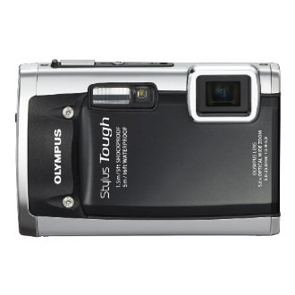 Olympus Stylus Tough 6020 14MP Digital Camera with 5x Wide Angle Zoom (Black)