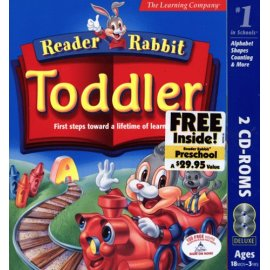 Reader Rabbit Toddler with Preschool Free Inside!