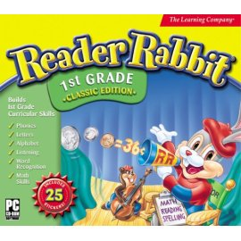 Reader Rabbit 1st Grade with Stickers