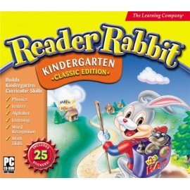 Reader Rabbit Kindergarten with Stickers