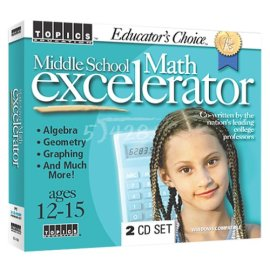 Educator's Choice Middle School Math Excelerator