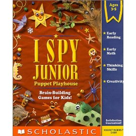 I Spy Junior:  Puppet Playhouse