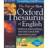 SELECTSOFT USA The Pop-up New Oxford Thesaurus of English