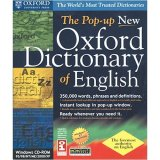 SELECTSOFT USA The Pop-up New Oxford Dictionary of English