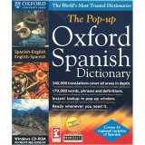 SELECTSOFT USA Oxford Pop-Up Spanish/English Dictionary