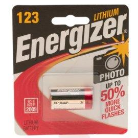 Energizer e2 123 Lithium Photo Battery