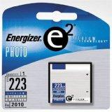 Energizer e 223 Lithium Photo Battery