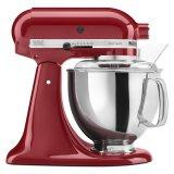 KitchenAid KSM150PSER Artisan Series Stand Mixer with Pouring Shield (Empire Red)