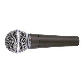 Shure SM58SLC Vocal Microphone (with On Off Switch) SM58S