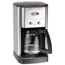 Cuisinart DCC-1200 12-Cup Brew Central Coffeemaker (Silver)