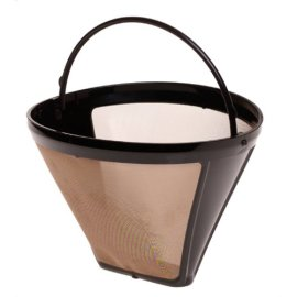 Capresso 750.09 Size-4 Cone GoldTone Filter