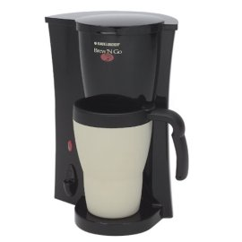 Black & Decker Brew 'N Go Coffee Maker with Travel Mug