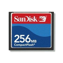 SanDisk 256 MB CompactFlash Card