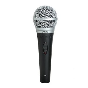 SHURE PG48 Vocal Microphone with 1/4 Cable