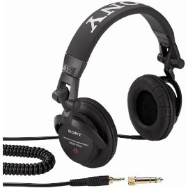 Sony MDR-V500DJ Traditional Closed-Ear Collapsible DJ Style Headphones