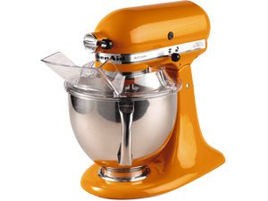 KitchenAid KSM150PSTG Artisan Series 5-Quart Mixer (Tangerine)
