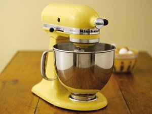 KitchenAid KSM150PSMY Artisan 5-Quart Mixer (Majestic Yellow)