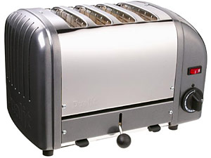 Metallic Charcoal Toaster