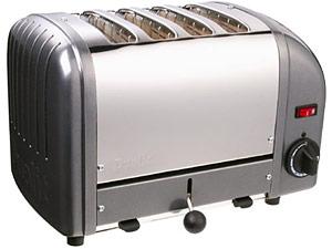 Metallic Charcoal Toaster