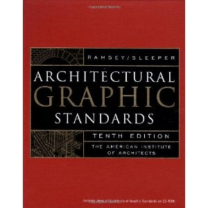 Architectural Graphic Standards (10th Edition) (Book Only)