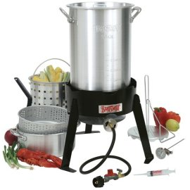 Bayou Classic 30-qt. Turkey Fryer Kit (includes Basket and Fry Pot)