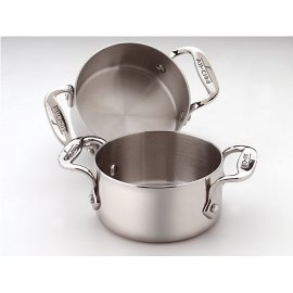 All-Clad Stainless Soup/Souffle Ramekins, Set of 2