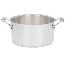 Cuisinart Chef's Classic Stainless 6-Quart Sauce Pot with Lid