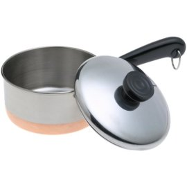 Revere Copper Clad 1-Quart Saucepan with Lid