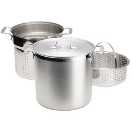 All-Clad 12-Quart Stainless Multi Cooker with Steamer Basket