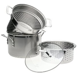 Calphalon Stainless Steel Collector's Edition 4-Piece Multi-Pot Set
