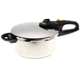 Fagor 918060242 4-Quart Stainless-Steel Duo Pressure Cooker