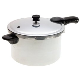 Presto 01282 8-Quart Aluminum Pressure Cooker and Canner