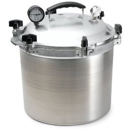 All American 21.5 Quart Heavy Duty Pressure Cooker, Canner (# 921)