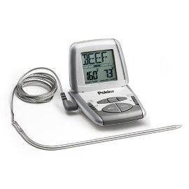 Polder Preprogrammed Cooking Thermometer