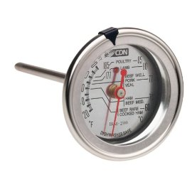 CDN IRM200 InstaRead Extra Large Dial Meat & Poultry Thermometer