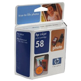 HP Photo 58 Inkjet Print Cartridge