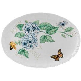Lenox Butterfly Meadow Fine Porcelain 16-Inch Platter