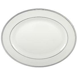 Lenox Federal Platinum 13-Inch Bone China Oval Platter