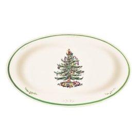 Spode Christmas Tree Oval Dish
