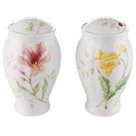 Lenox Butterfly Meadow Fine Porcelain Salt & Pepper Shakers