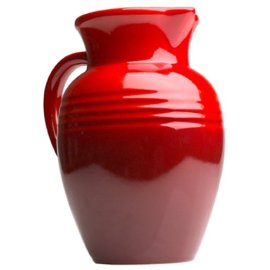 Le Creuset Poterie 2-Quart Pitcher, Cherry Red
